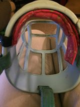 An example of muzzle padding from supporter Laurie Thomson.